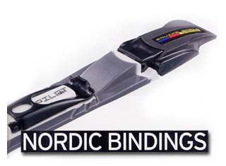 Bindings for ski and rollerski