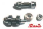 MZ1 - Kit: 4 axles, 4 bearing spacers, and 8 wheel spacers