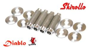 MZD02 - Set 4 inner and 8 ext spacer for 150mm Diablo wheel