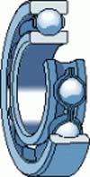 Cuscinetto a sfere 607-2RS ABEC 5