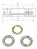 F7-17M BA7 - Single Thrust Ball Bearing 7x17x6mm