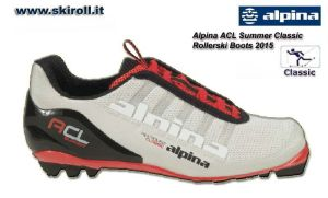 Alpina ACL Summer Classic Rollerski Boots 2015